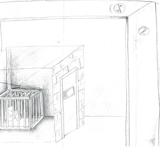 the boy inside drawing